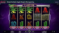 Break Da Bank Again Respin Microgaming Online Slot review