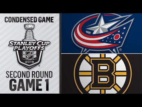 04/25/19 Second Round, Gm 1: Blue Jackets @ Bruins