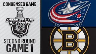 04/25/19 Second Round, Gm 1: Blue Jackets @ Bruins