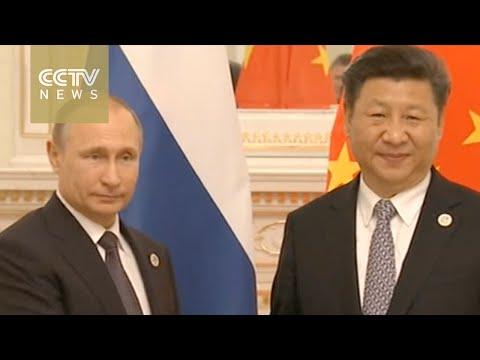 President Xi meets with President Putin