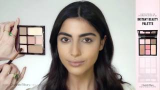 Instant Look in a Palette: Natural, Glowing Makeup Tutorial (feat. Nicola) | Charlotte Tilbury