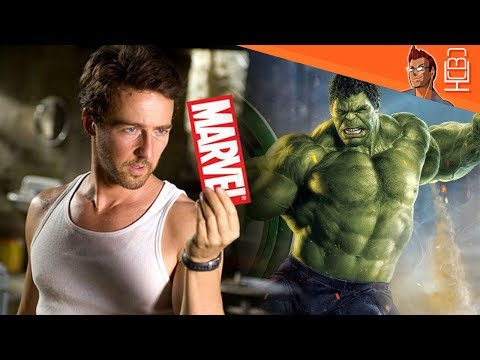 Edward Norton Salty HULK Comments & Lack of Character Interest