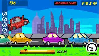 ROAD RAGE TRIP GAME WALKTHROUGH | CAR RACING KIDS GAMES