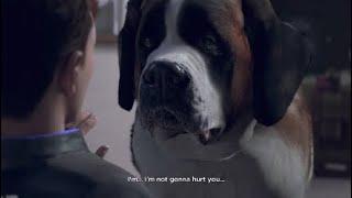Detroit: Become Human - Connor y el perro