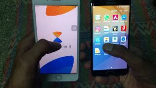 How to fast transfer data/photo/music/video between iOS/Apple and Android using Xender App screenshot 5