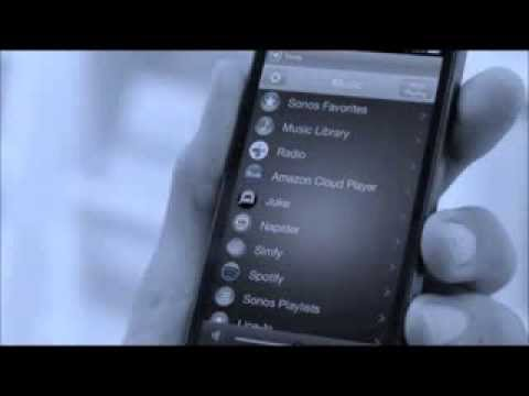 Sonos commercial Werbung - Fill your Home with Music Full Song N.A.S.A. - Hide (Remix) 2013