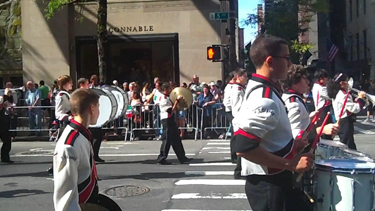 Columbus Day Parade~NYC~2011~E.Tresper Clarke Marching ...