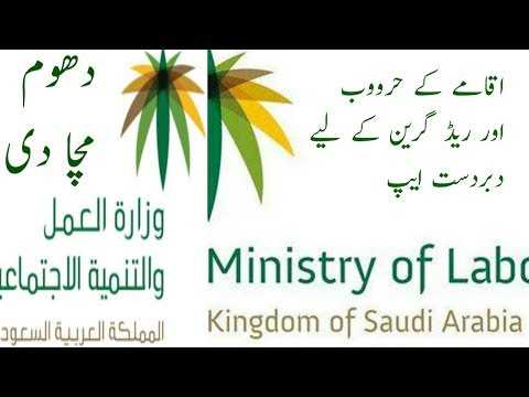 Check your IQAMA Nitaqat (Red, Green, Yellow or white) status - Saudi Arabia -