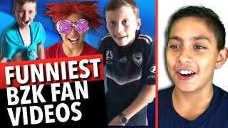 Funniest Fan Videos!  I React To Funny BZK Fan Clips