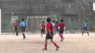 160305 交流戦 2 野川キッカーズ vs 有馬中学校