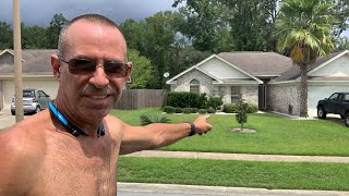 How fast can I Cut a Front Yard LIVE!