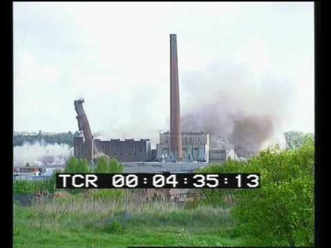 Demolition of Agecroft