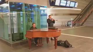 Station Zwolle 5 oktober 2017 Hans Jansen & Hessel Boschma