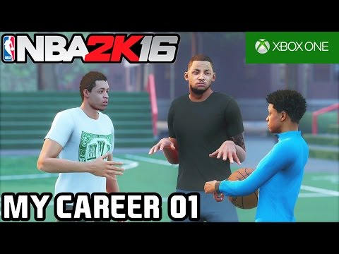 NBA 2K16 - MY CAREER: COMEÇANDO DO ZERO! #01 [XBOX ONE]