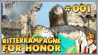 Let's Play For Honor Kampagne ⚔ - Ich war ein Wächter #001 [Let's Play|1440p|Deutsch|German]