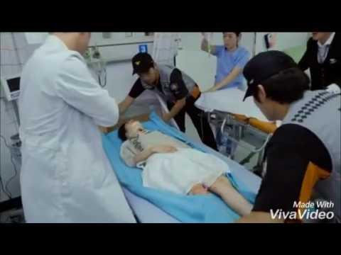 Jungkook a tenido un accidente