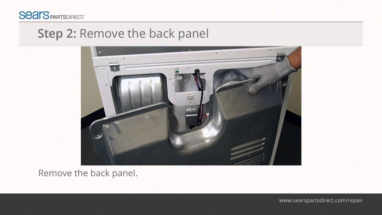 Ge Dryer Wiring Diagram How To Replace A Dryer Thermal Fuse Youtube