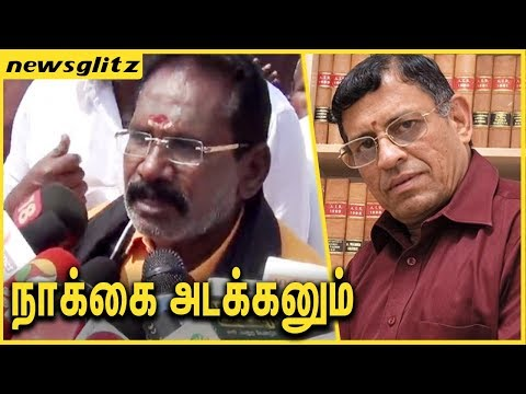 நாக்கை அடக்கி பேசனும் : Sellur Raju condemns Auditor Gurumurthy | Latest Speech