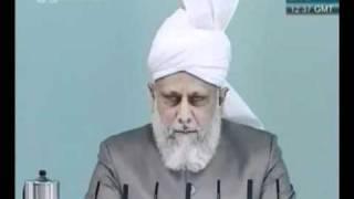 Проповедь Хазрата Мирзы Масрура Ахмада (07-05-2010)