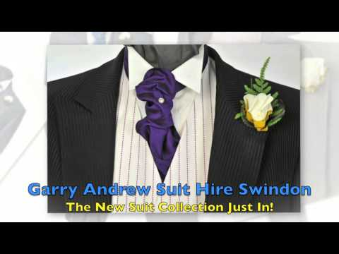 Garry Andrew Suit Hire, New Collection