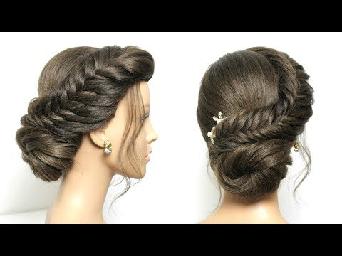 Easy Updo Tutorial For Medium Long Hair