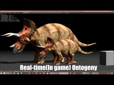 Ontogeny in Triceratops for T-rex World