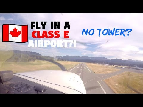 WHAT IS CLASS E? | Canada Control Zone & Airspaces | ATC Audio