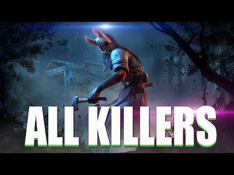 Dead By Daylight 2018 - 'All TRAILERS & KILLERS' - DEAD BY DAYLIGHT EVOLUTION 2018