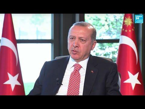 """Vidéo : Erdogan estime que l'Europe est """"injuste"""" envers la Turquie"""