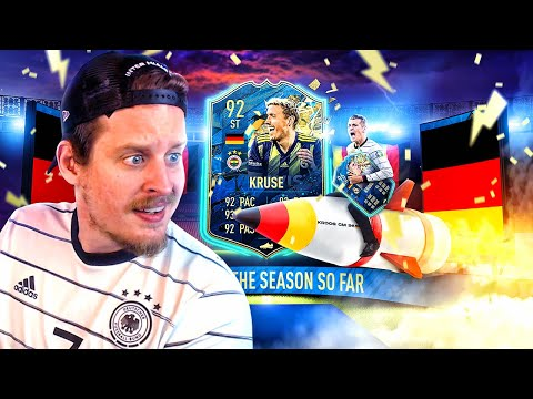 THIS CARD IS NUTS! 92 TEAM OF THE SEASON KRUSE PLAYER REVIEW! FIFA 20 Ultimate Team