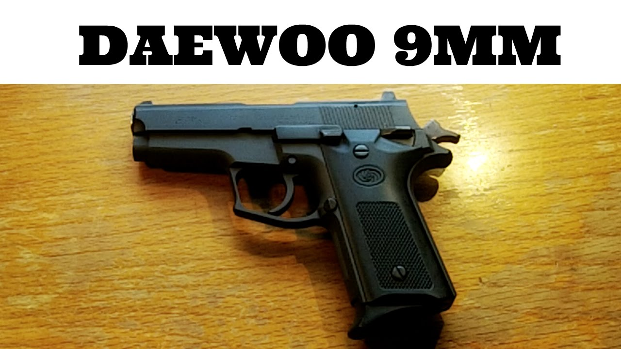 Daewoo 9mm DP51C Pistol Review - YouTube