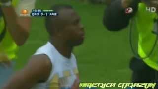 Queretaro vs America 0-4 goles - Jornada 5 apertura 2012 liga MX