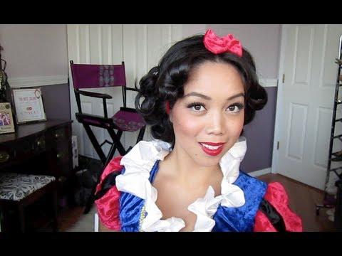 Snow White Hair Tutorial ItsJudyTime YouTube