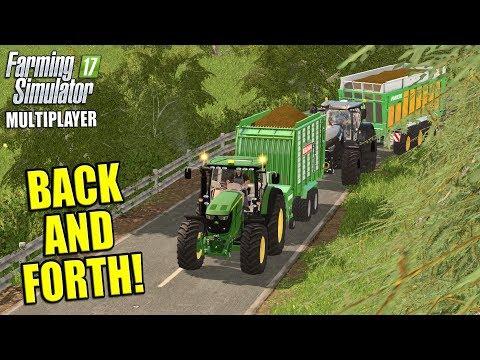 BACK AND FORTH | Multiplayer Coldborough Park Farm