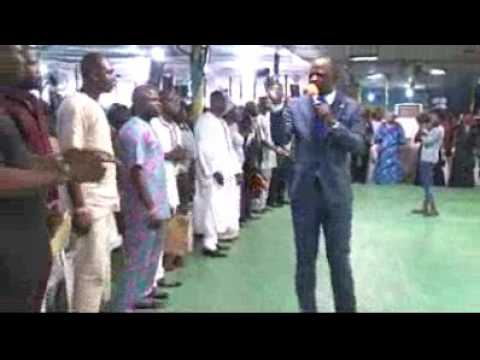 Prophet Martinien son of the tireless general Senior Prophet J. Omoto Fufeyin