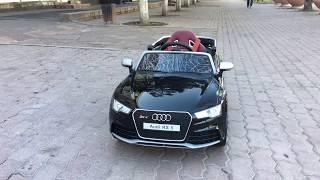 видео: Обзор детская машина электромобиль машинка Ауди РС5 Audi RS5