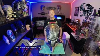 "AVP-R - ""Wolf"" Predator Bio Mask ""DX Version"" Unboxing 
