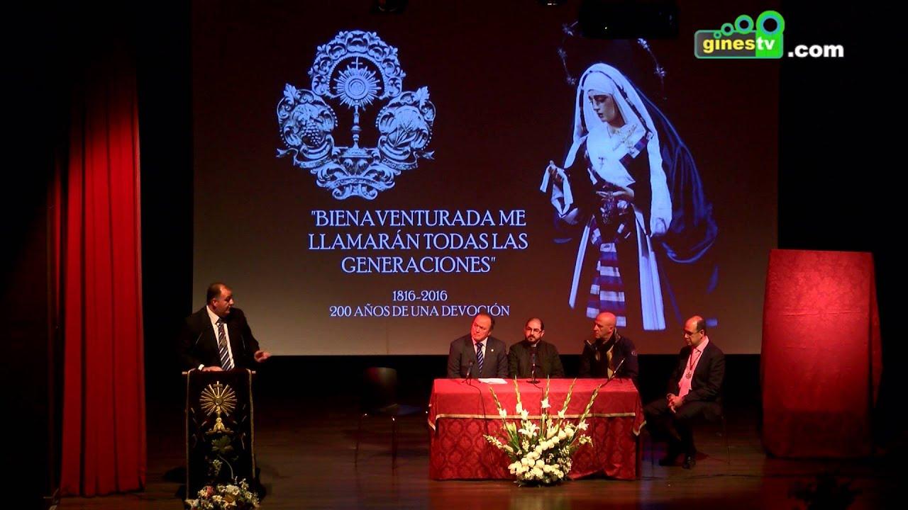 Comienzan los actos del Bicentenario de Nuestra Señora de los Dolores de Gines