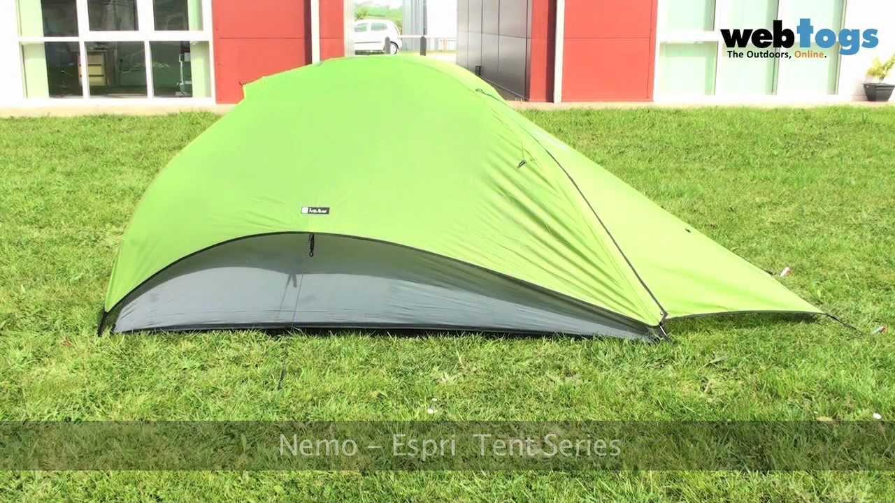 The Nemo Espri Tents - Flexible lightweight backpacking tents. & The Nemo Espri Tents - Flexible lightweight backpacking tents ...