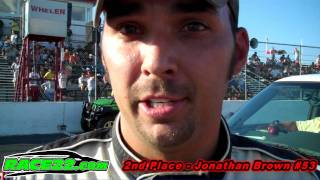 Ace Speedway 9 11 11 Modified Interviews