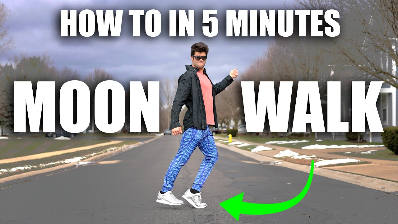Learn How to Real Moon Walk – In Only 5 Minutes (Great for New Years)