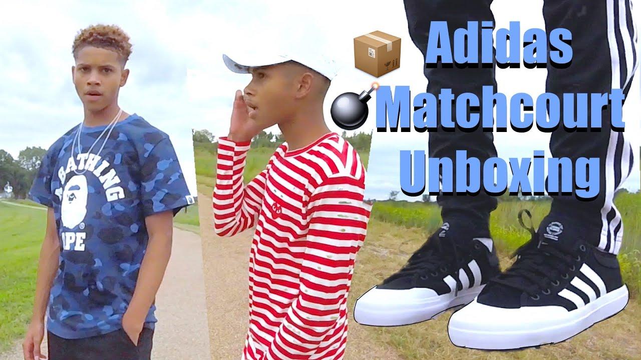 New Shirts \u0026 Adidas Matchcourt Unboxing