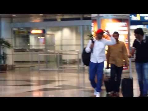 Hiphop Tamizha arriving at KLIA