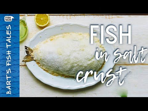 Christmas FISH In SALT Crust | Bart Van Olphen