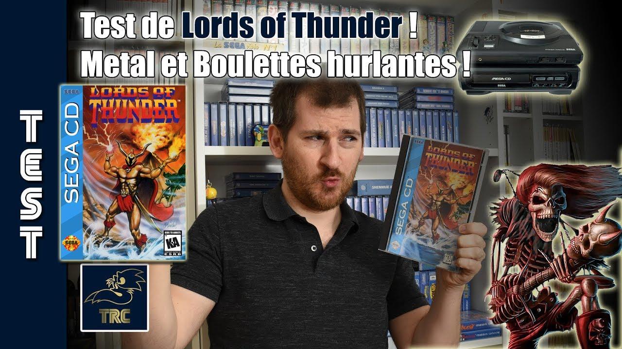 ? Du Heavy Metal et des Boulettes ? Test de Lords of Thunder sur MEGA CD / SEGA CD ? OH YEAH !! ???