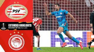 PSV vs. Olympiakos: Extended Highlights | UCL on CBS Sports