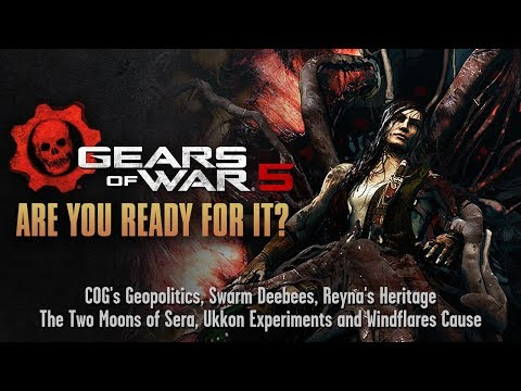 Gears of War 5  Are You Ready For It? Analysis in 4K  Waiting for E3 2018