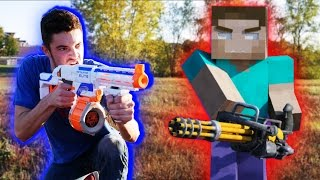 Nerf War: Nerf meets Minecraft