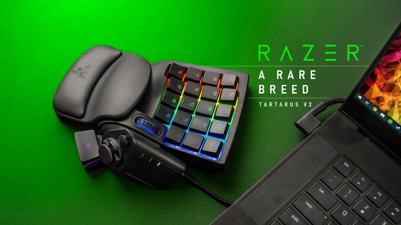 Is This Gaming Keypad Perfect or Pointless?  Razer Tartarus v2