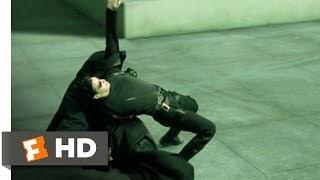 Rooftop Showdown - The Matrix (7/9) Movie CLIP (1999) HD